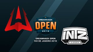AVANGAR vs INTZ - DreamHack Open Rio 2019 - map1 - de_mirage [SSW]