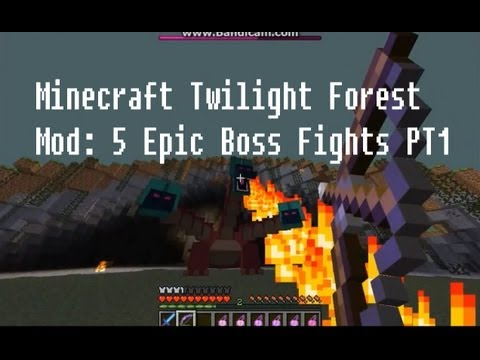 Twilight 5 - Part one of defeating all the bosses in the famous Twilight Forest Mod with various disadvantages eg. no armour. I hope you enjoy the video, as it was one of...