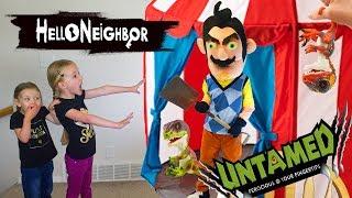 Video Hello Neighbor in Real Life!!! UNTAMED Fingerlings Dinosaurs Scavenger Hunt! MP3, 3GP, MP4, WEBM, AVI, FLV Januari 2019