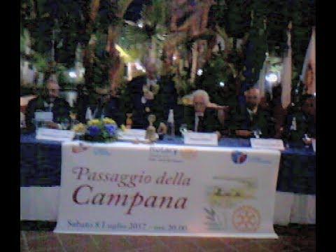 Passaggio della Campana al Rotary Club di Patti - Terra del Tindari.
