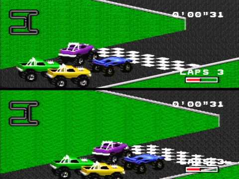 Eyedunno - R.P.M. Racing on the SNES captured with the USB 3.0 XCAPTURE-1 from Micomsoft, YADIF deinterlaced (due to native 480i output) and Lanczos upscaled to 720P. L...
