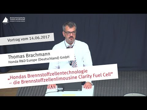 """Vortrag: """"Clarity Fuel Cell- die Brennstoffzellenlimousine von Honda"""""""