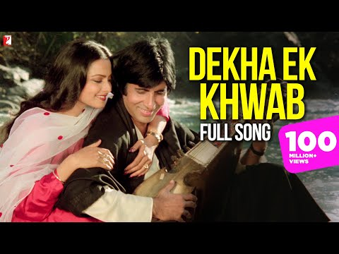 Download Dekha Ek Khwab Song, देखा एक ख्वाब, Silsila | Amitabh | Rekha | Kishore Kumar | Lata Mangeshkar hd file 3gp hd mp4 download videos