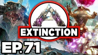 ARK: Extinction Ep.71 - BATTLING MY OWN ICE TITAN, SACRIFICING MY TITANS (Modded Dinosaurs Gameplay)