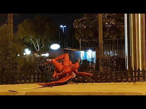 Παλαιό Φάληρο: Άγνωστοι γκρέμισαν τον «Phylax»