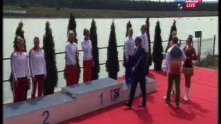 2015 Račice K2 200m Women  Canoe Sprint European Championships