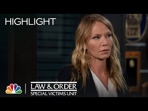 Fin Never Wanted to End Up This Way - Law & Order: SVU