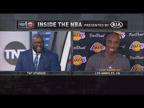 笑哭!俠客O'Neal連線Kobe:謝幕戰希望你砍50分