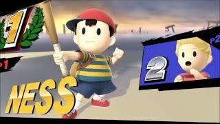 Determination – A Ness Super Smash Bros for Wii U Montage