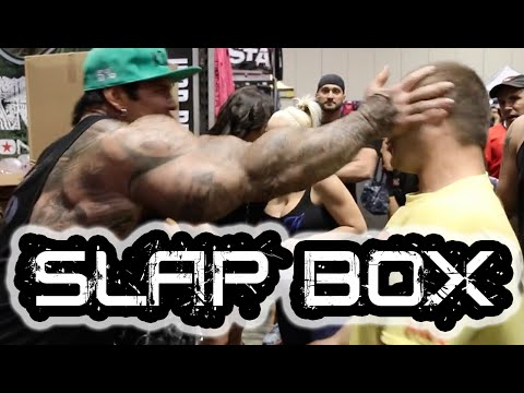 Rich Piana Slap Box Jason Genova