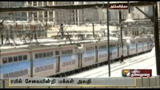 Metro rail services affected in the US - Tamil news - 16-01-2014