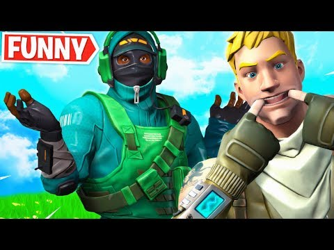 Carrying the *FUNNIEST* 6YR Old Kid In Fortnite!