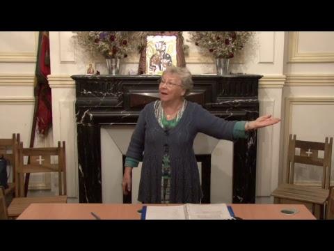 CDS Paris, 21 septembre 2017: Hélène Sejournet - Mémorisation évangile