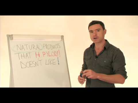 how to cure h pylori infection naturally
