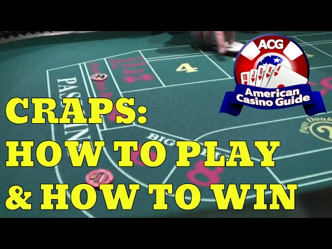 Craps: How to Play and How to Win – Part 1 – with Casino Gambling Expert Steve Bourie