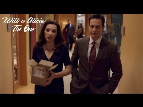 The Good Wife || Will and Alicia || The One