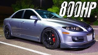 800HP Mazdaspeed6 battles V8's on the STREET! by 1320Video