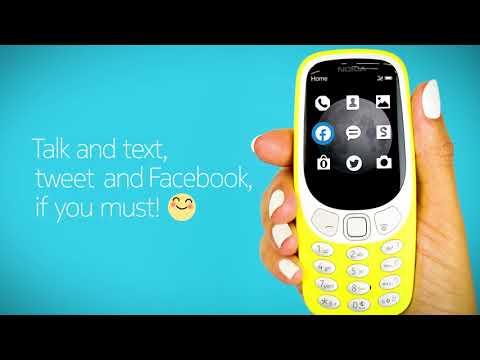 Nokia 3310復刻3G版來了 2000元有找[影]