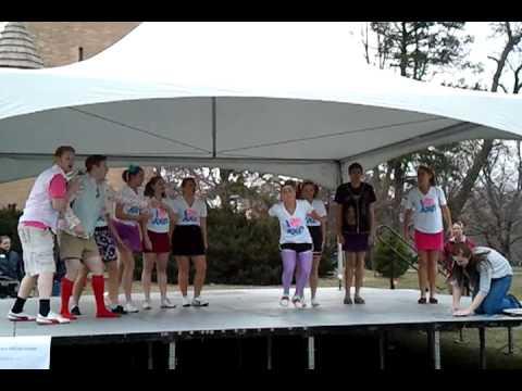 Greek Week Roll Call 2011. DTD, AXO, Sig Pi (видео)