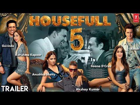 Housefull 5 Movie Official Trailer | Akshay Kumar | Anushka | Govinda | Karishma | Ritesh | Ileana