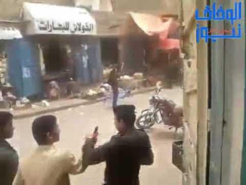 شاهد كيف ينهب الحوثيين تجار أسواق صنعاء