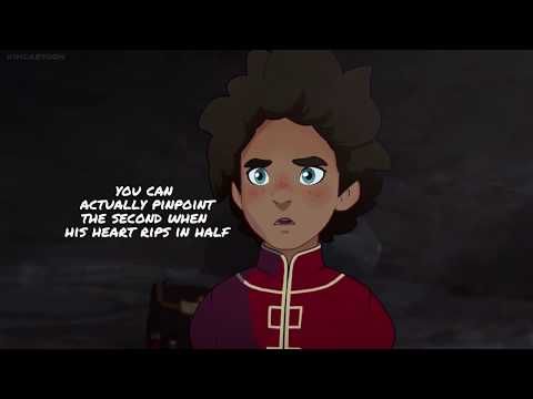 learn the alphabet with the dragon prince season two