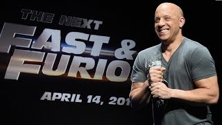 Nonton Vin Diesel Announces Fast And Furious 8 Release Date Film Subtitle Indonesia Streaming Movie Download