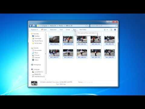 Burning Files to CD or DVD