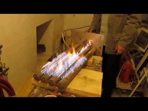 Как сделать газовую горелку для бани своими руками