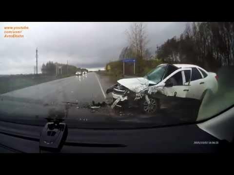 Жесткие аварии 1й недели Октября 2015