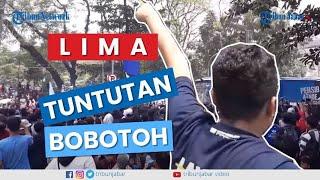 Video #BandungMelawan, Bobotoh Persib Aksi Sampaikan 5 Tuntuan ke PSSI MP3, 3GP, MP4, WEBM, AVI, FLV Januari 2019