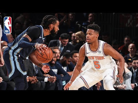 Video: Full Game Recap: Grizzlies vs Knicks | Dennis Smith Jr. Debuts For New York