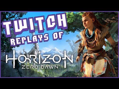 Twitch Replays: Horizon Zero Dawn [Day 5]