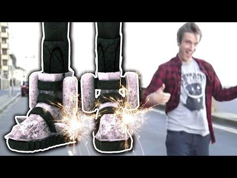 I GOT ROCKET BOOTS! (5 Weird Stuff Online - Part 16) (видео)