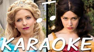 Karaoke/instrumental of Cinderella vs. Belle: Princess Rap Battle! Follow along with the lyrics on screen - no vocals, just the beat! Subscribe: http://tiny.cc/WAsubNerdy Wordy Merch: http://tiny.cc/nerdywordyIf you make a cover video using this, please link to the original video https://youtu.be/VeZXQf77hhk. FYI, that won't transfer ownership of the music.** CINDERELLA VS BELLE: #PRINCESSRAPBATTLE CREDITS **Writer/Producer/Director/Belle: Whitney Avalon http://whitneyavalon.com  http://twitter.com/whitneyavalonWriter/Producer/Director/Editor: Steve Gossett http://stevegossett.com  http://twitter.com/thestevegossett  http://facebook.com/thestevegossett  Cinderella: Sarah Michelle Gellar http://facebook.com/sarahmichellegellar http://twitter.com/sarahmgellar  http://instagram.com/sarahmgellar/Goldilocks: Emily Goss http://twitter.com/emilygoss650Buttercup: Ali Williams http://twitter.com/aliactsLittle Red: Courtney Merritt http://twitter.com/otruenycPocahontas: Nikki Mejia http://www.nikkimejia.com/Gaston: Michael Harris http://twitter.com/harris_actor888Cinematographer: Peyton SkeltonAssistant Camera: Vanessa Ward2nd AC/Data Tech: Alex CasonComposer / Music Mix / Mastering: Ryan Elder http://www.ryaneldermusic.comMake-up / Hair: Patty Jarvis, Amy WienerMake-up Artist for Ms. Gellar: David De LeonCostume Designer: Sarah JeanneProduction Manager: Leia CrawfordStaff Writer: Michael Sullivan Recording Engineer: Mario Gorito http://mariogorito.comKey Grip: John MarionPA/Grip: Jim BurzelicGaffer: Dan Colmenares1st AD: T.C. DeWittSet Decoration/Sound Engineer: Fionnegan Justus MurphyCraft Service/Stills: Candace Lauren OstlerAsst. Editor/VFX/BTS Camera: Mike ManasewitschPlayback: Alex FrewPA: Alexa BorderTechnical Advisor: Margaret HelmerLocation: Matt Truebe http://frequency.comSpecial Thanks: David B. Lyons, JoAnne Colonna, Nick CampbellFor licensing or business queries: contactwhitneyavalon@gmail.com** THANKS FOR WATCHING :) **