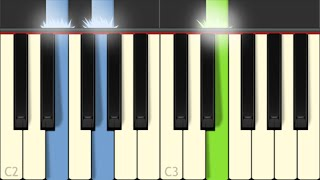 Miley Cyrus Wrecking Ball - Synthesia Piano Cover