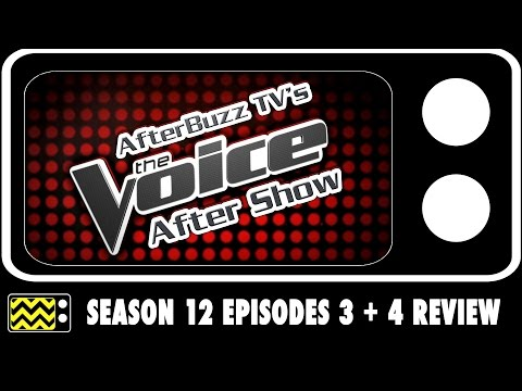 The Voice Season 12 Episodes 3, 4, & 5 Review & After Show | AfterBuzz TV