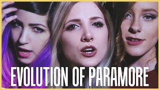 Video Evolution of Paramore - Mashup By Halocene, ft. Terabrite and First To Eleven MP3, 3GP, MP4, WEBM, AVI, FLV Januari 2018