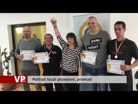 Polițiști locali ploieșteni, premiați