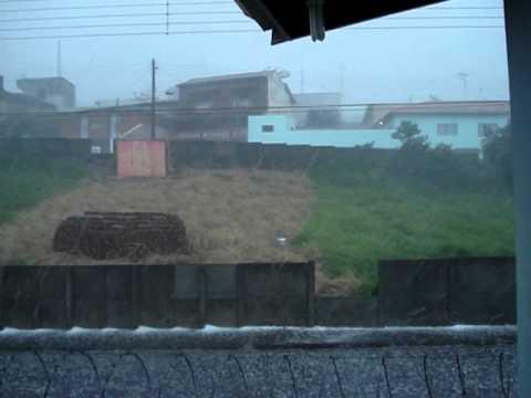 Granizo em Laranjal paulista - SP 10/04/11