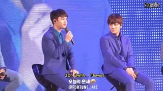 [ENG] 160401 EXO SECRET NIGHT - Kyungsoo's Poem
