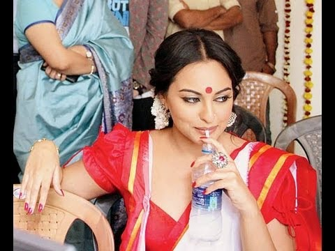 Bullet Raja on the sets pics: Sonakshi Sinha in a