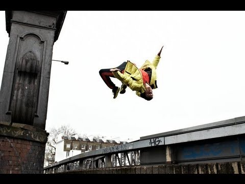 Incredible Raw Vegan Parkour, Free Running