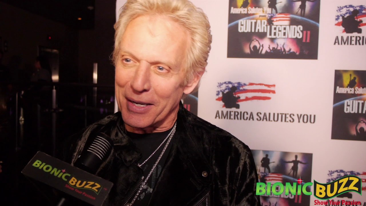 Eagles Guitarist Don Felder Interview at America Salutes You presents Guitar Legends II