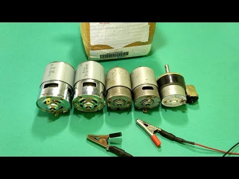 Unboxing RS 775 HighSpeed DC MOTOR
