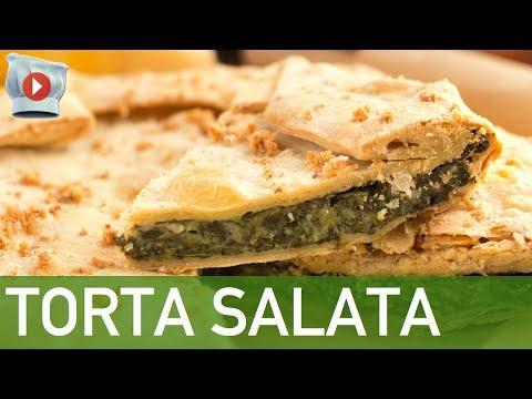 torta salata con ricotta e spinaci - ricetta