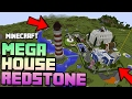MINECRAFT MEGA REDSTONE HOUSE - It Will Blow Your Mind!!