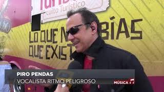 Ritmo Peligroso, concierto en Turibus