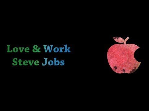 Whatsapp Video Status  Quotes On Love  Steve Jobs