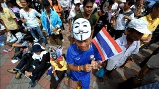 Anti-government Protesters Gather In Bangkok